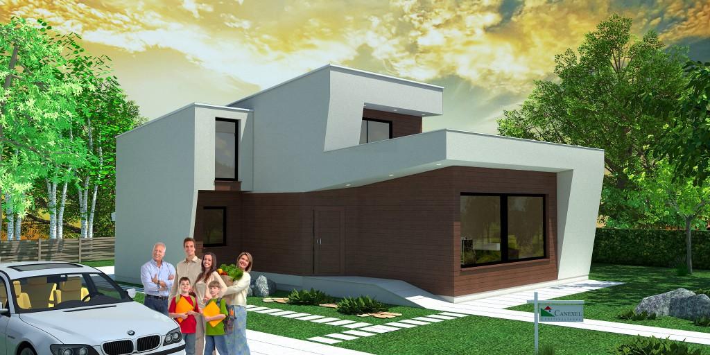 Habitat nueva casa predise ada de estilo moderno canexel - Casas de canexel ...