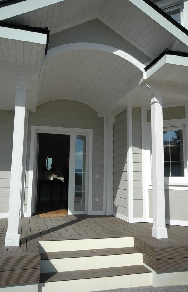 Casa whistler estilo casas victorianas - Porche entrada vivienda ...