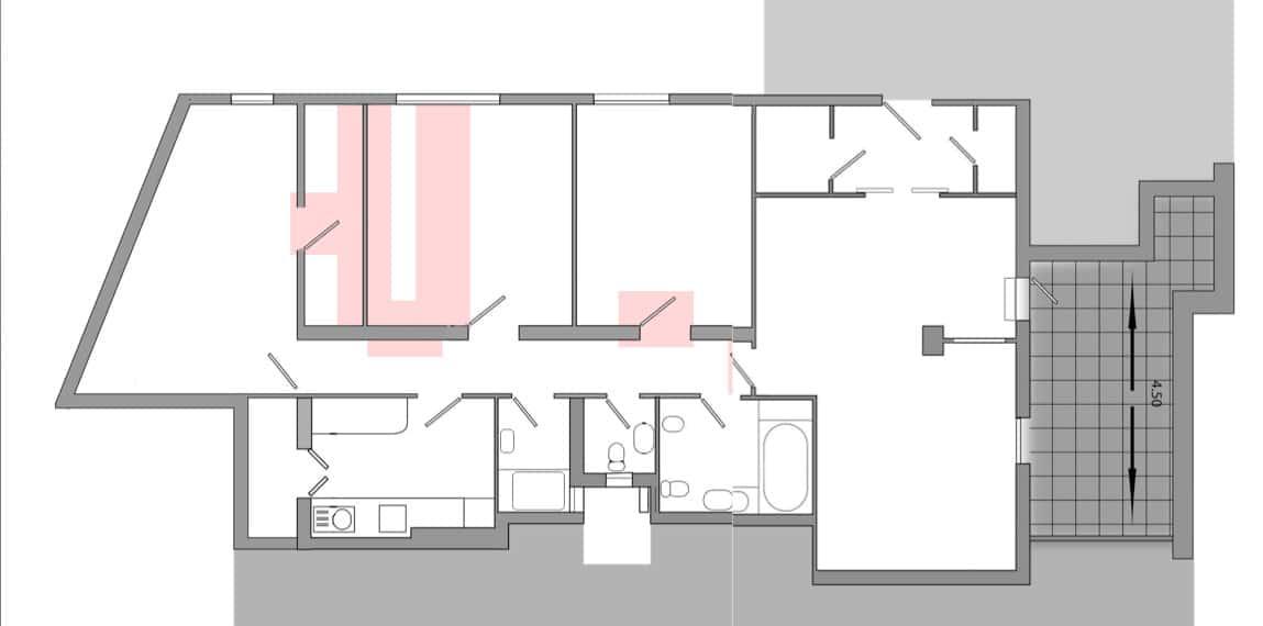 Reforma de piso en madrid for Piso una habitacion madrid