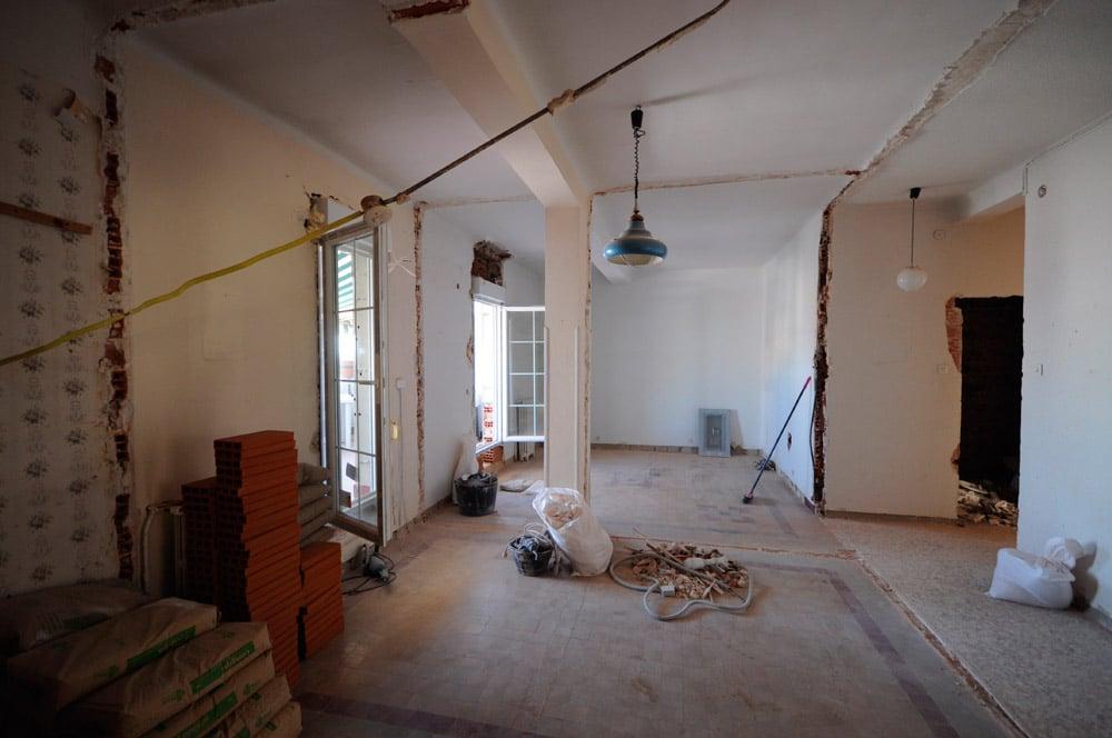 Reforma de piso en madrid Casas americanas interior