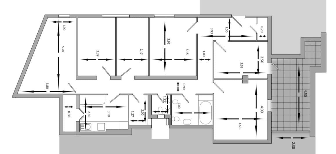 Precio reforma integral piso 50 metros gallery of for Cuanto cuesta una reforma integral de una casa