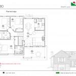 102 m2 plano vivienda 80