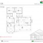 107 m2 plano 128