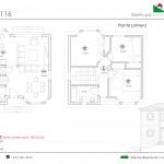 124 m2 plano 116