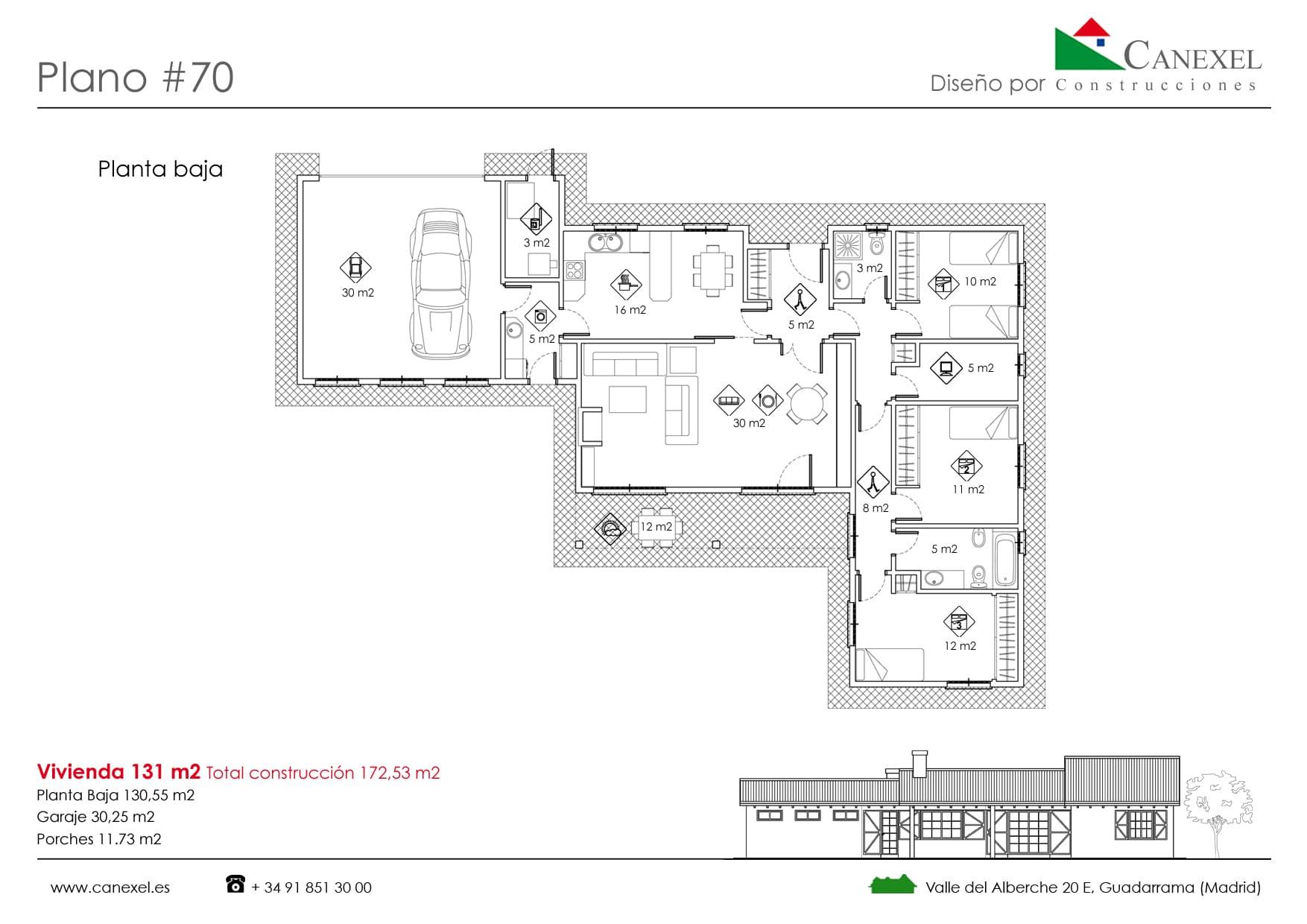 Disenos de chalet modernos cholets new aymaran mansions for Planos de chalets modernos