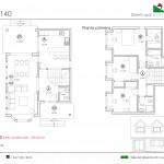 132 m2 plano 140