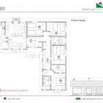 145 m2 plano 88
