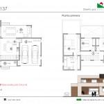 152 m2 plano 137