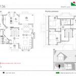 176 m2 plano 136