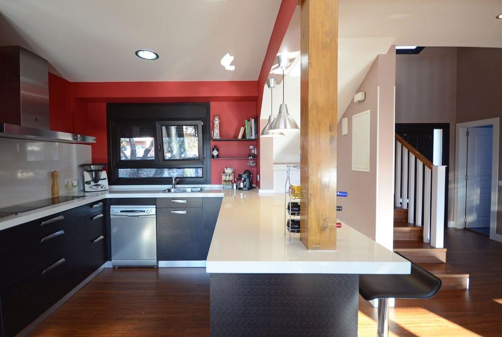 Islas y pen nsulas cocinas con personalidad casas de for Plano para cocina americana