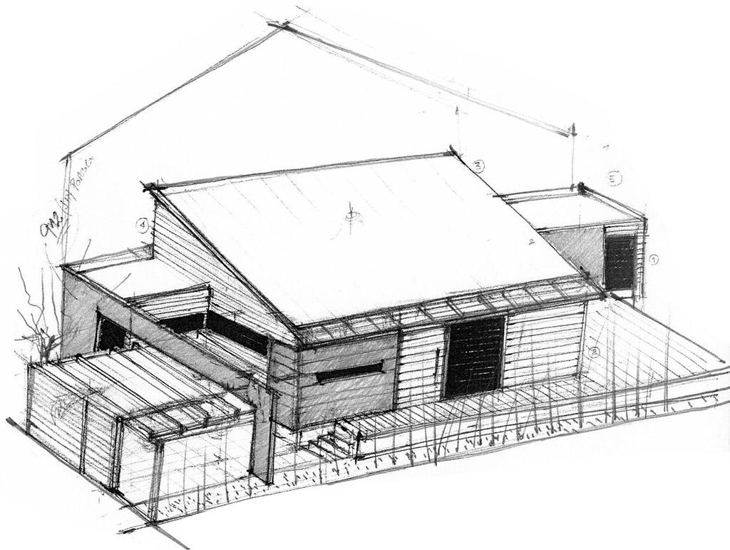 Dise ar casa en parcela peque a for Arquitectura planos y disenos