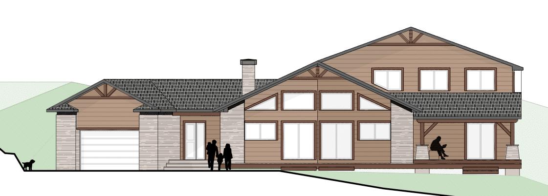 Nueva casa madera en gerona canexel - Proyectos para construir una casa ...