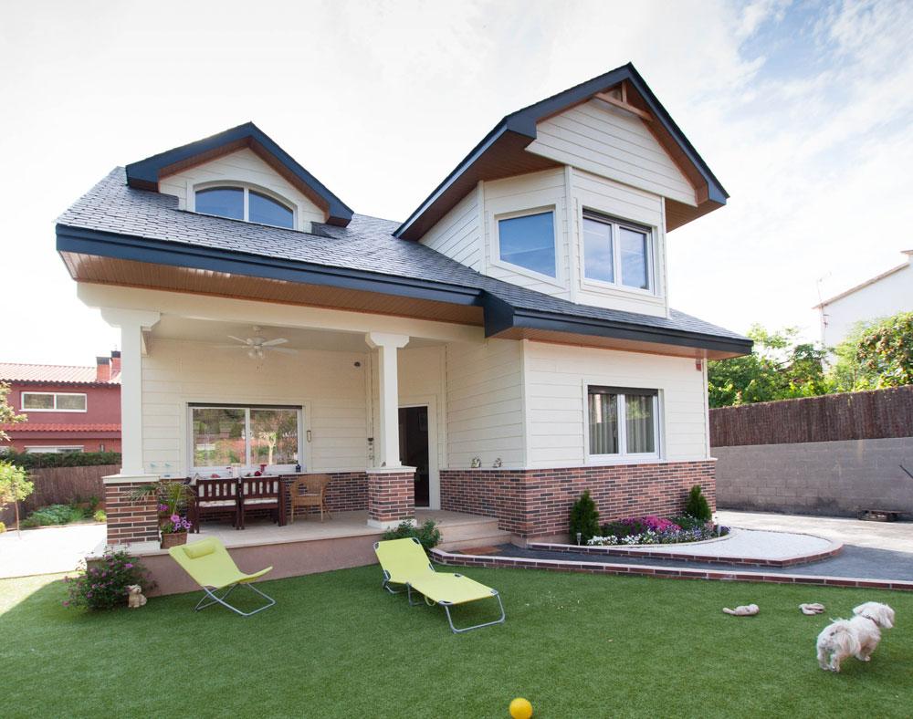 Casa americana christina lake Casas modernas americanas