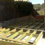 proceso constructivo terraza madera