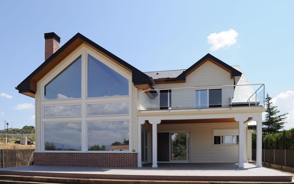 Casa de madera broadback dise ada y construido por canexel - Casas de canexel ...
