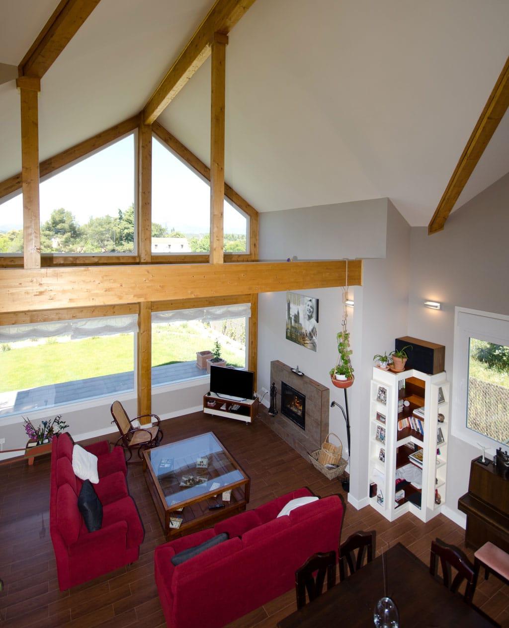 Casa de madera broadback dise ada y construido por canexel - La casa de madera valencia ...