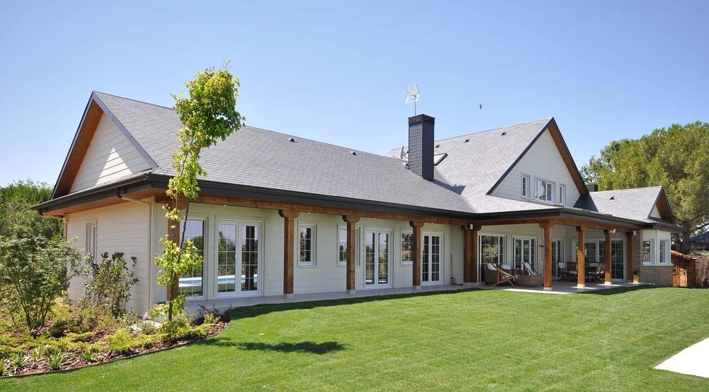 Casa en constructor construir una casas baratas en - Casa de madera galicia ...