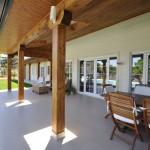 Porche - Edmonton, casa de madera
