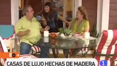 Reportaje de telemadrid sobre nuestras casas canexel - Casas canadienses madrid ...