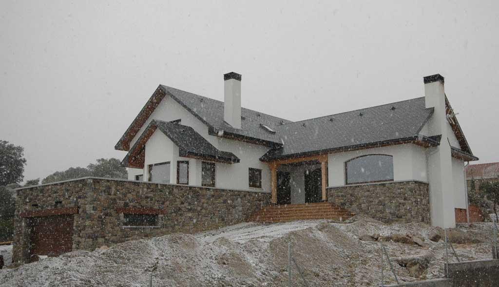 Casas de madera nevadas canexel - Casas de canexel ...