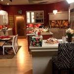 Cocina de la casas de Jay y Gloria
