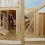 Estructura en casa de madera en Valdemorillo