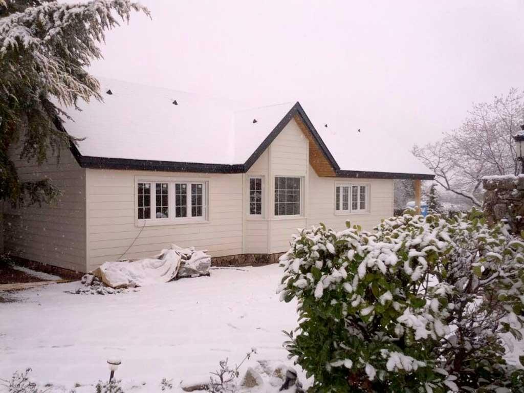 Casas de madera nevadas canexel - Casas canadienses canexel ...