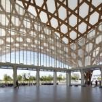 Shigeru Ban Pompidou Interior