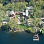 Casa de Lujo de Bill Gates. Vista aérea 2