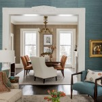casa diseño combo salón con tabique de separación