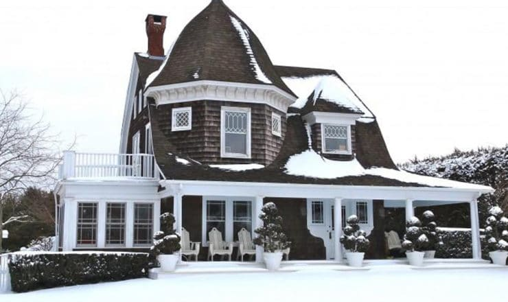 casa hamptons terraza