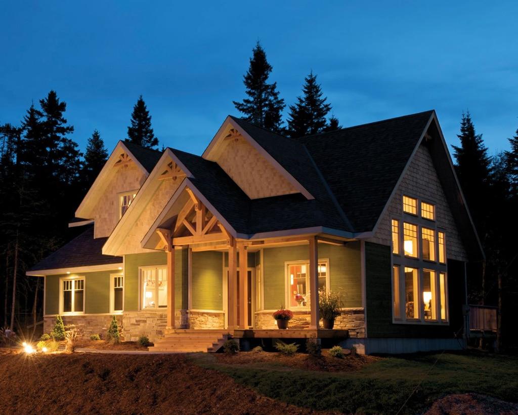 Las casas canadienses de 39 tu casa a juicio 39 canexel for Country style manufactured homes