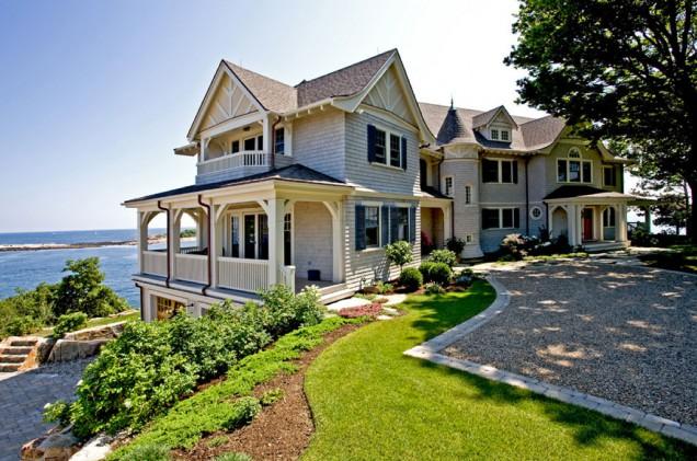 Casas de playa de madera
