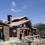 Campelles casa de madera