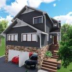 Casa canadiense