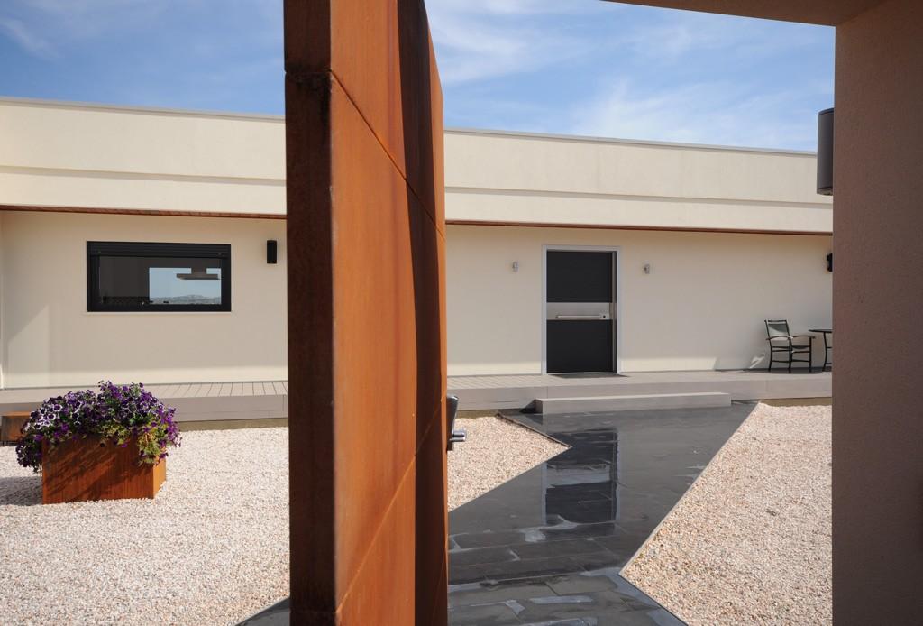 Entradas de casas modernas