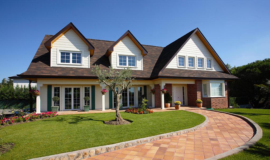 Constructora l der en casas de dise o a medida canexel - Casas canadienses madrid ...
