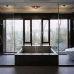 Baño abierto