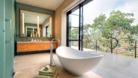 baño terraza