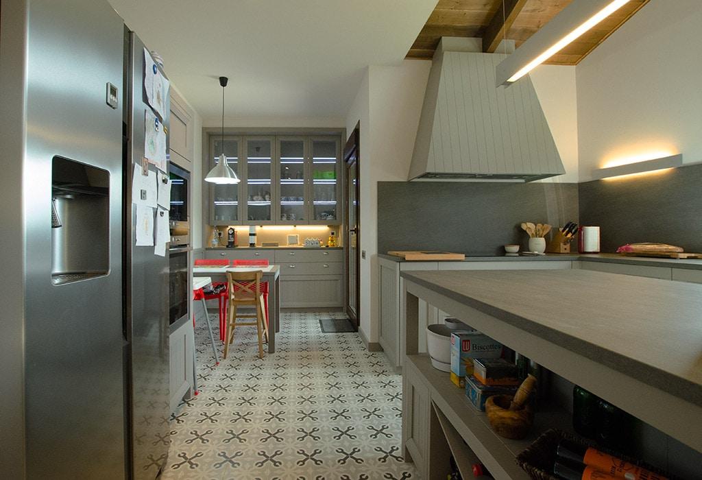 Cocinas de casas americanas for Baldosas cocina