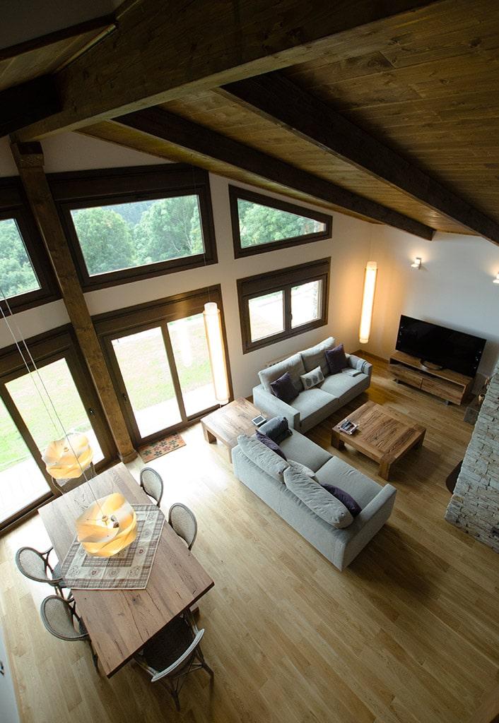 Casa camrose canexel - Salon doble altura ...