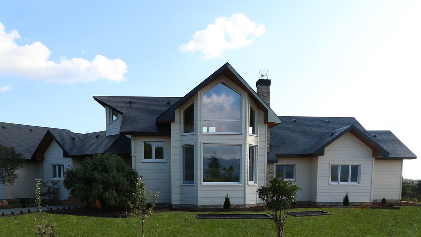 Casa de madera en collado villalba canexel - Precio casas canexel ...