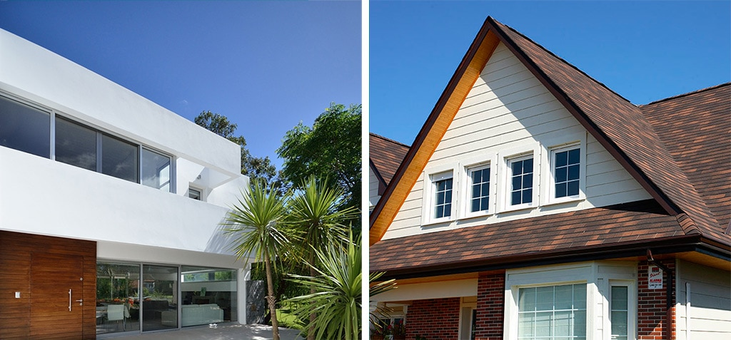Cubiertas planas o inclinadas diferencias t cnicas canexel for Cubiertas para techos de casas