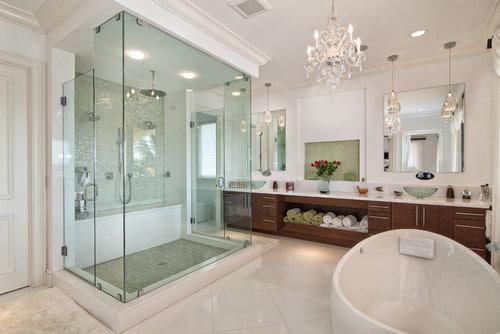 ducha especial