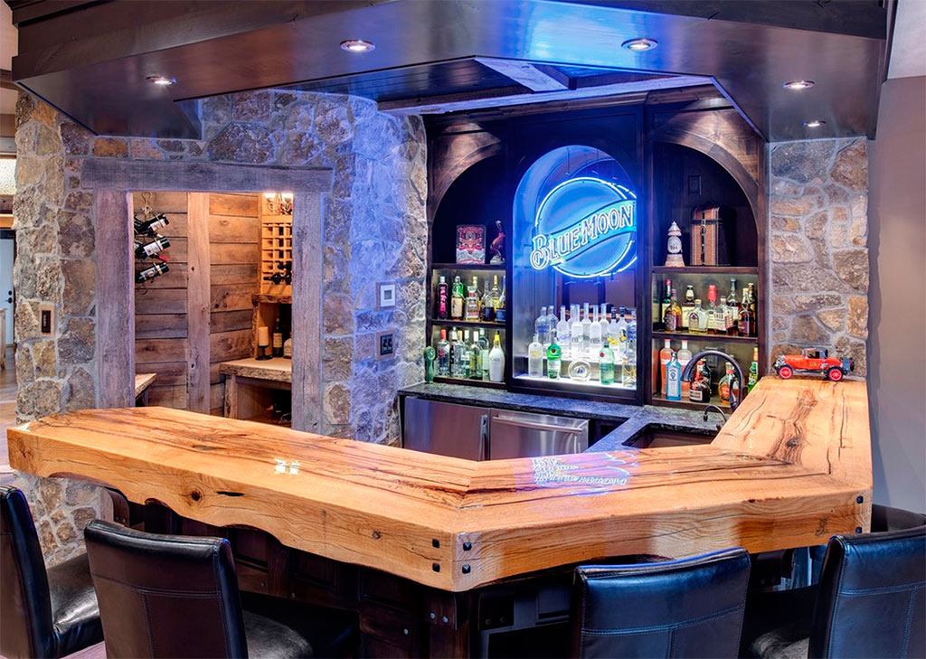 Man Cave Bar Counters : Barras de bar en casa canexel