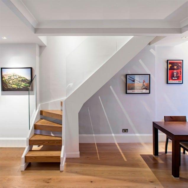 Escaleras de dise o canexel for Disenos para escaleras interiores