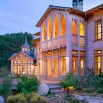 casa de lujo gótico