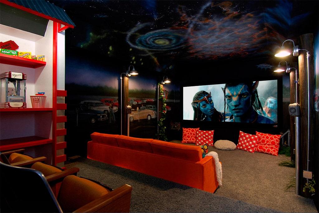 Salas de cine en casa canexel - Fotos de salas de cine ...