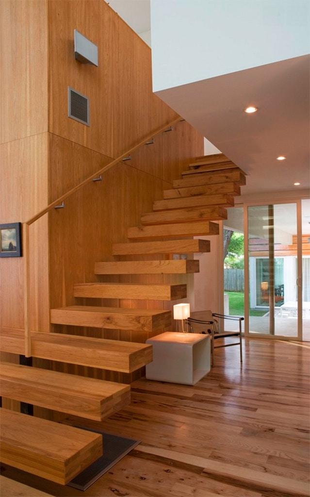 Escaleras de diseo Canexel
