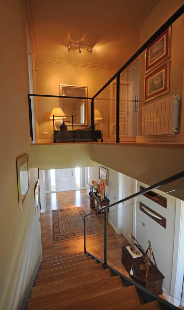 Escaleras de dise o canexel - Casas americanas interiores ...